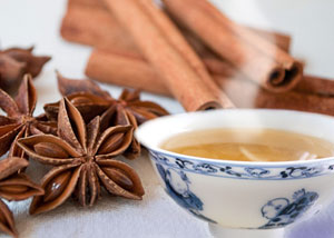 Имбирный чай с анисом и корицей. Ginger, Anise, Cinnamon Tea